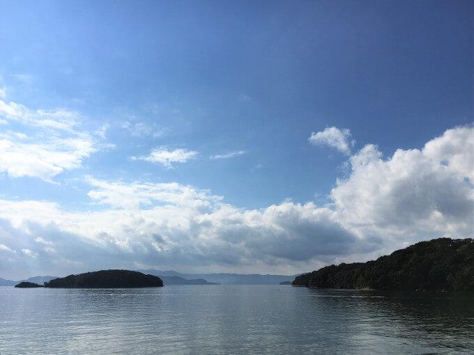 大村湾風景
