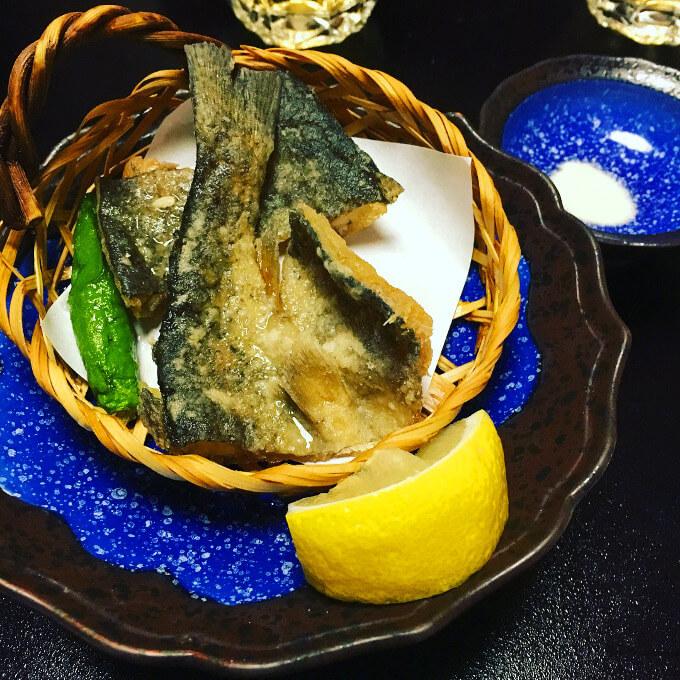 お魚の天ぷら