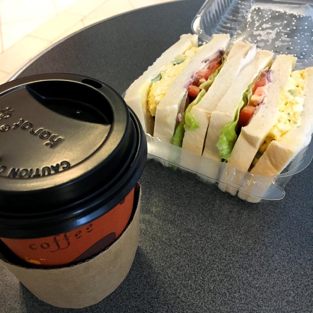 サンドイッチ&cofee