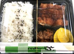 トンカツ弁当の画像