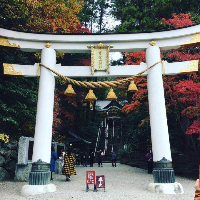 宝登山神社鳥居