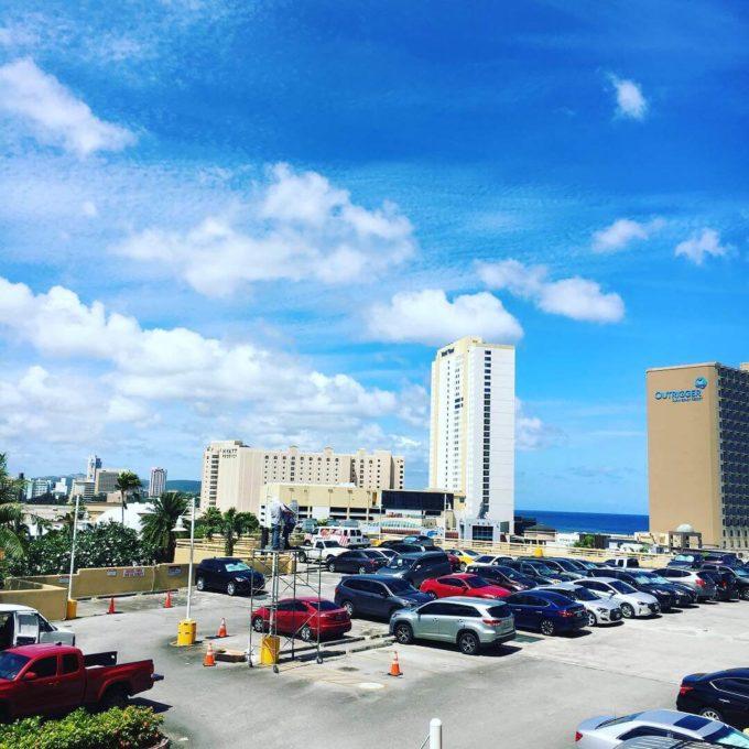 グアムプラザホテル景色