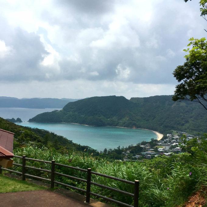 奄美大島ハート型の湾