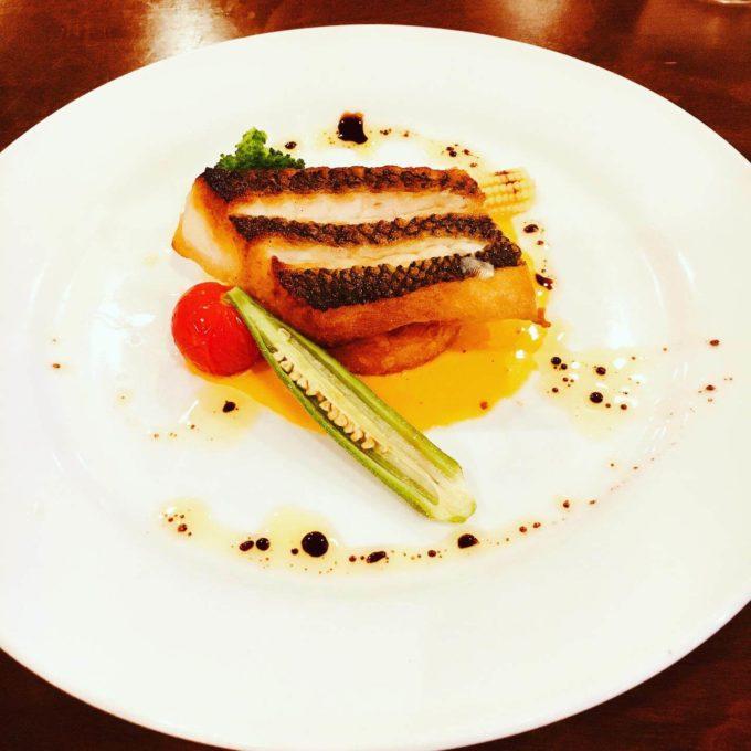 レストランフォレスト 魚料理