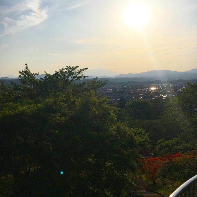 長峰公園展望台