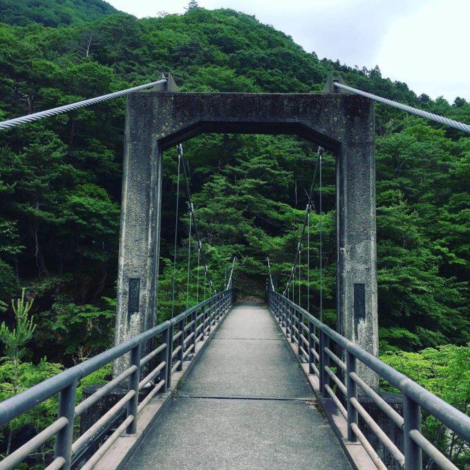 龍王峡 橋