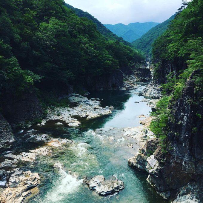 龍王峡 鬼怒川