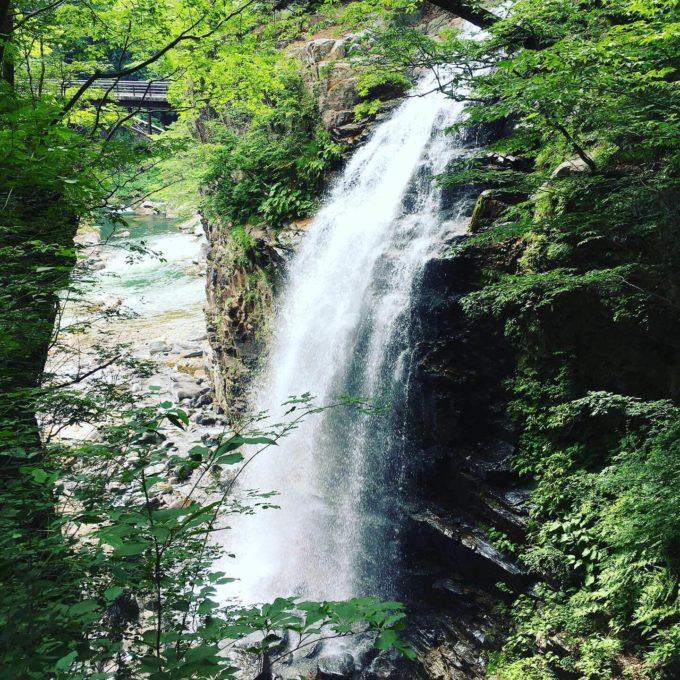 龍王峡 滝