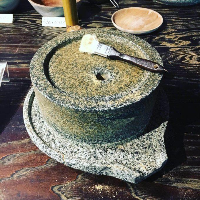 星野リゾート界川治きな粉作り