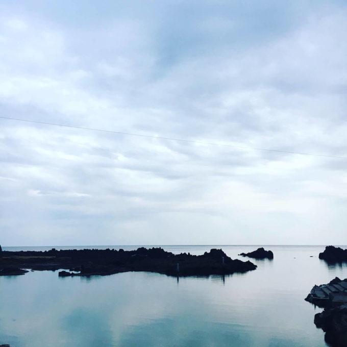 佐渡 宿根木海岸